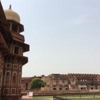 Taj Mahal and Red Fort {Agra}