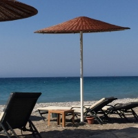The Endless Blue of Rhodes