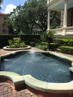 Fountain at Calhoun Mansion